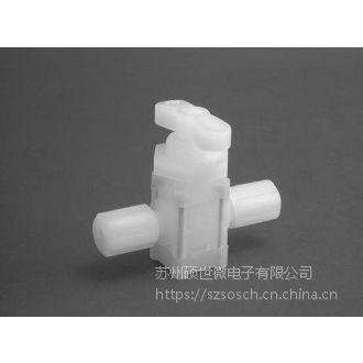 美国PARKER派克特氟龙Teflon超纯手动两通PFA隔膜阀MV-10-6046-10