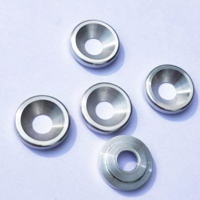 东莞厂家螺丝沉头铝片加工定制 铝片加工定制 数控车床加工铝合金脚垫