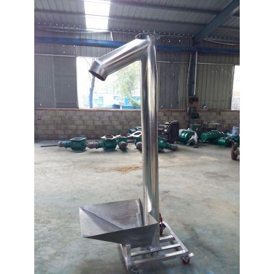 自动螺旋提升机价格来图生产 伊春干粉料螺旋输送机样品加工设计
