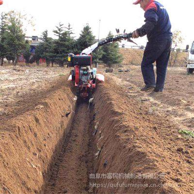 草莓培土机厂家 大功率甘蔗培土机 富民牌