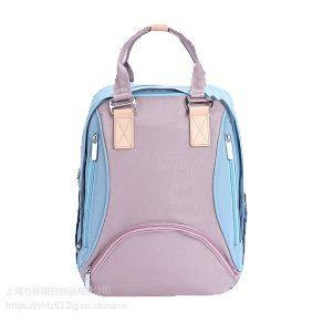 时尚多功能大容量手提包双肩背包外出便携式母婴包定做