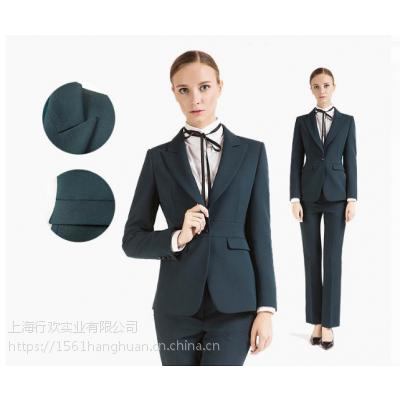 上海西服厂 供应职业西服订做职业西服女套装西装衬衫