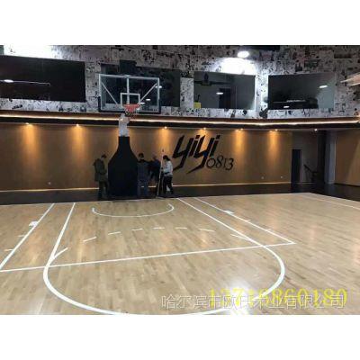 辽宁庄河市 篮球木地板厂家 运动木地板施工注意事项