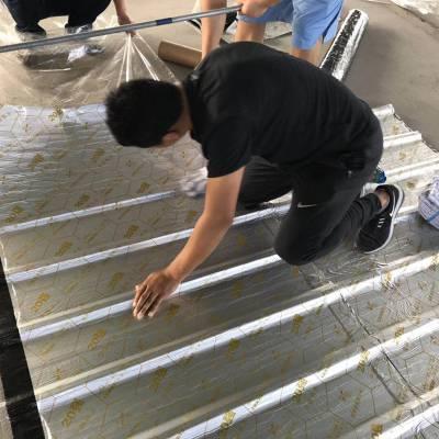 一款专用用于彩钢屋面防水的自粘卷材 耐高温100度管用30年