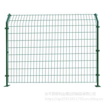 联利公路护栏网 浸塑铁丝网 铁路围栏定做