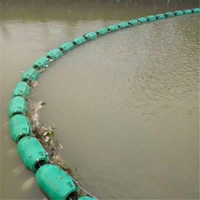 水库一级站引水口拦污浮筒 耐冷冻浮筒式拦污漂