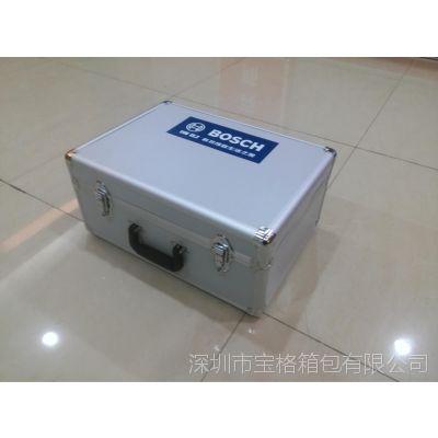 供应仪器铝箱 订做铝合金包装箱便携式手提密码箱 工具箱工具包