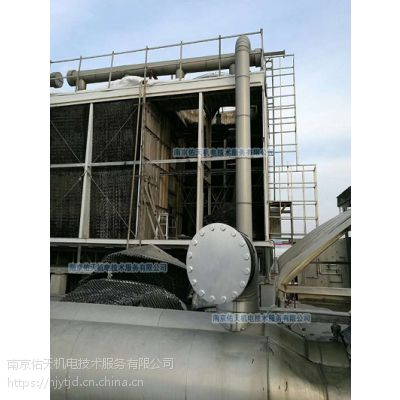 马利冷却塔SC-400L填料电机减速机更换