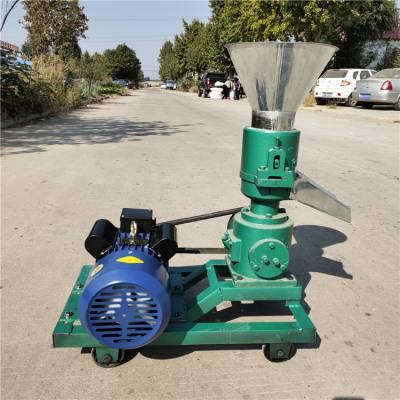 养殖户专用饲料颗粒机 饲料加工制粒机便携操作小型机