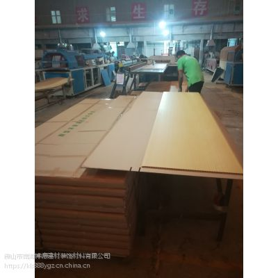 广东佛山竹木纤维集成墙板怎么安装效果