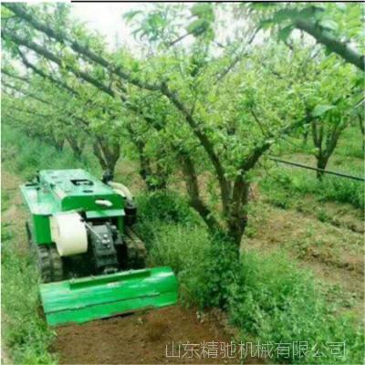 大棚果园开沟旋耕机 新型履带开沟回填机 田园管理机价格