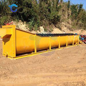 顺义区小型洗砂机-全自动小型洗砂机视频-华工环保科技