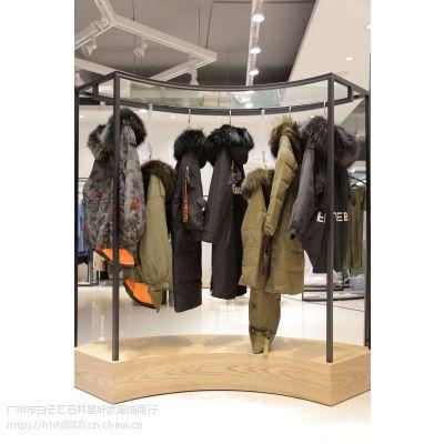 乐町北京女装尾货批发市场在哪里折扣女装 杭州尾货批发推广白色羽绒服