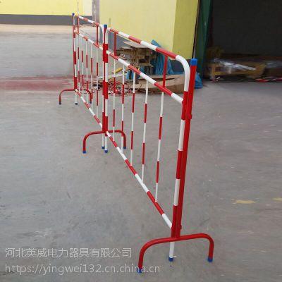 铁马围栏国标尺寸 道路分流隔离护栏参数 移动安全围栏 型号