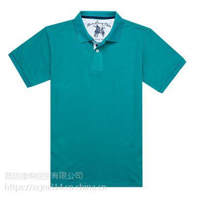昆明男士POLO衫定做,雄琛T恤衫厂家做更好的您