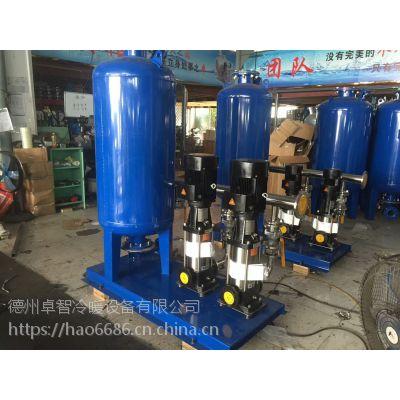 百朗厂家批发全自动定压补水装置 定压压力罐补水排气机组