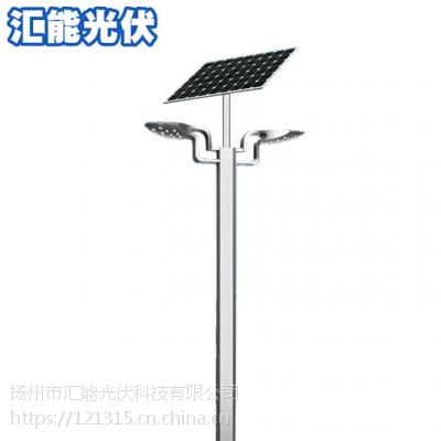厂家批发双头太阳能路灯 新款led一体化30w太阳能户外道路照明灯