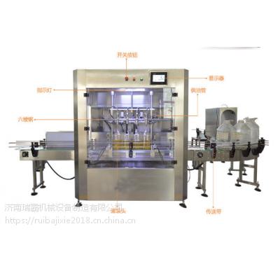 500ML亚麻籽油灌装机 瑞霸全自动八头精品油灌装机