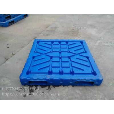 山西吹塑托盘,化肥专用重型双面塑料托盘