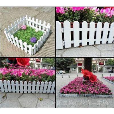新款塑料园艺栅栏 花园围栏装饰 护栏小篱笆 地插式超软自由拼接