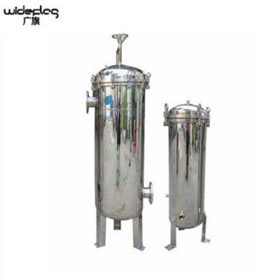 广旗直销汕尾陆丰市高精度提纯设备 果汁厂前置处理用多袋式过滤器