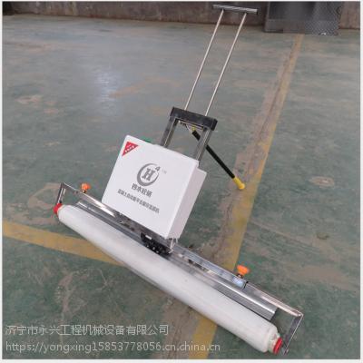 后拉式水泥路面盖膜机 塑料膜覆膜机宽度可调节