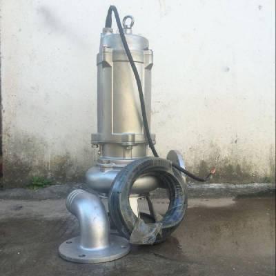 沃德无堵塞不锈钢排污泵QWP50-18-30-4高温耐腐蚀污水泵
