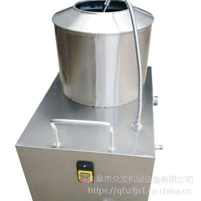 土豆削皮机型号 不锈钢600型磨皮机 去皮机厂家