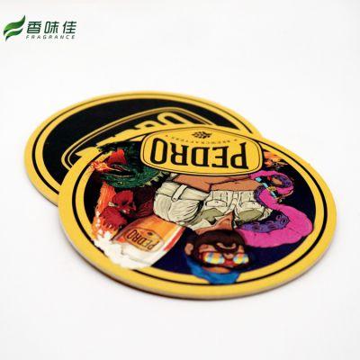 定制各种创意 文艺 一次性 吸水杯垫 酒吧 广告促销印logo90*90mm