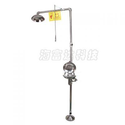 中西(LQS现货)安全喷淋洗眼器 型号:GU333-X-I 库号:M300431
