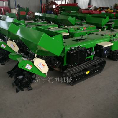 葡萄园施肥开沟机 多用途履带式施肥除草旋耕机