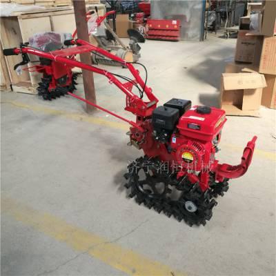RH177Q手推链轨式微耕机 汽油款耘播机自动播种施肥机