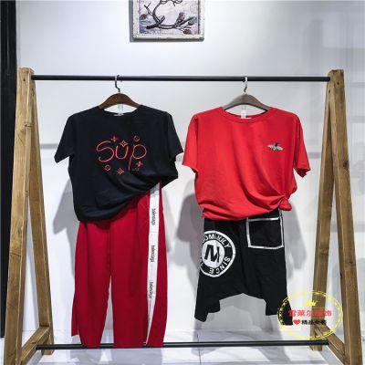 广州夏季女装特价品牌超燃优雅风连衣裙石井尾货批发多种面料新款组货包