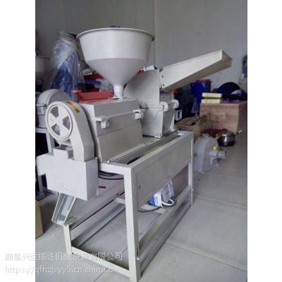 威海谷子碾米机 新款砻谷机源头厂家