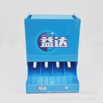 口香糖桌面零食促销台重力补货架 商超展示盒架 pop展示用品