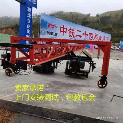 东硕机械订做大型路面刻纹机 路面防滑桁架刻纹机