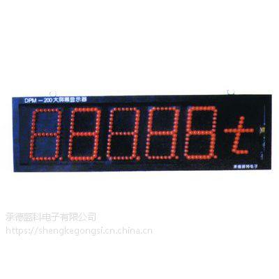 承德天车秤钢包秤大屏幕PT-DPM200