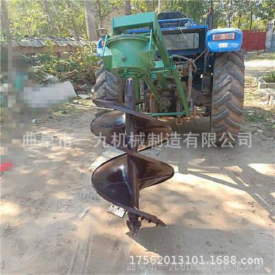 现货直销手提式植树挖坑机 一九牌螺旋转头挖坑机 质保两年