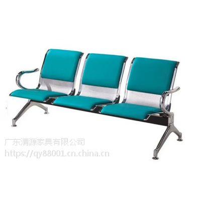 QY001三人不锈钢椅子冷咋板*不锈钢三人椅子冷咋钢*广安不锈钢三连座椅