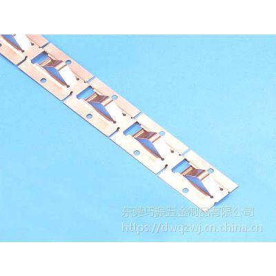 铍铜簧片生产厂家 各式各样电磁屏蔽五金铍铜弹片