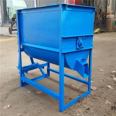 猪厂全价粉料混合机 润丰 适用小型猪场用搅拌机 草料混合机