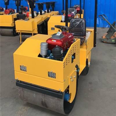 180水冷柴油动力压路机 送黄油枪 天德立载人式压路机