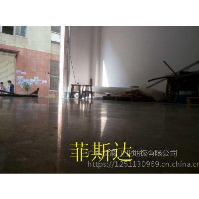 茶山水磨石固化施工—东莞、茶山厂房地面抛光处理、天气寒冷