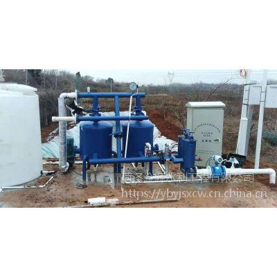 全自动反冲洗砂石过滤器水肥一体化设备灌溉手动砂石过滤器 农业生产
