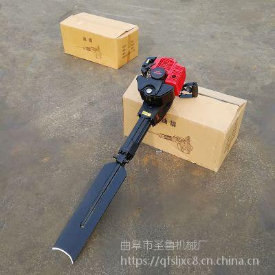 潍坊家用挖树机 进口小松挖树机 圣鲁牌图片 视频