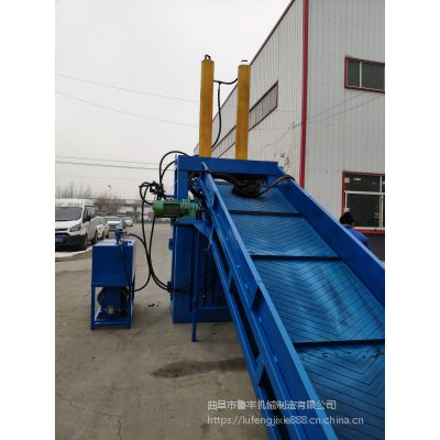 河南省南阳市黄纸板压块机煤气罐液压打包机40吨电机多大