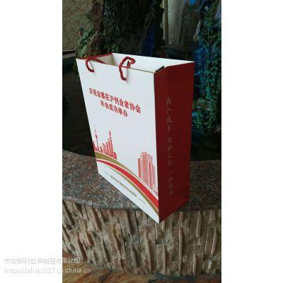 250克白牛卡手提袋,安徽顺科生产,免费设计,质量保证