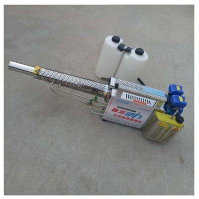 农用烟雾机 英达远程双管打药机