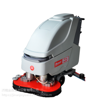 菏泽食堂手推式洗地机小型电动擦地机多少钱贝纳特Clever 660BT双刷清洗机