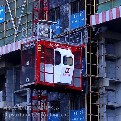 厂家专业定制升降电梯 工程建筑双笼施工升降机